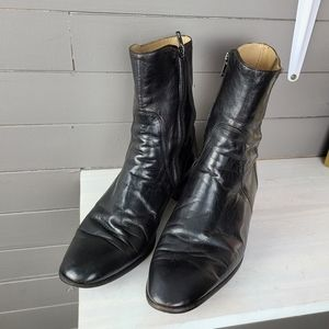 Bally Made in Italy Leather Boots